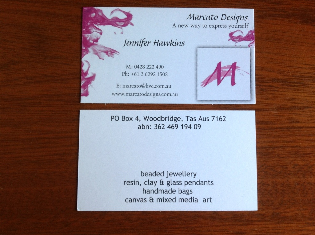 Business cards | MARCATO DESIGNS