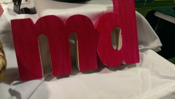 My wooden letters - Marcato Designs